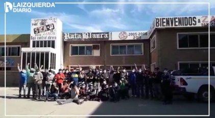 Solidaridad de clase: obreros de Zanon reciben a los mineros de Andacollo