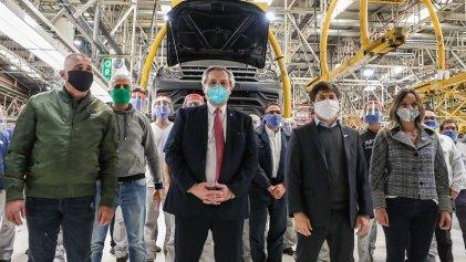 Fernández-Kicillof en Volkswagen: halagos a una multinacional que ataca a los trabajadores
