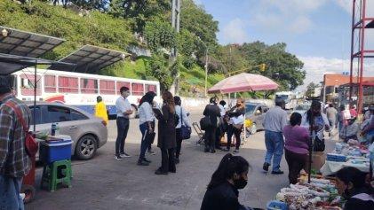 Operativo municipal contra ambulantes en San Salvador de Jujuy